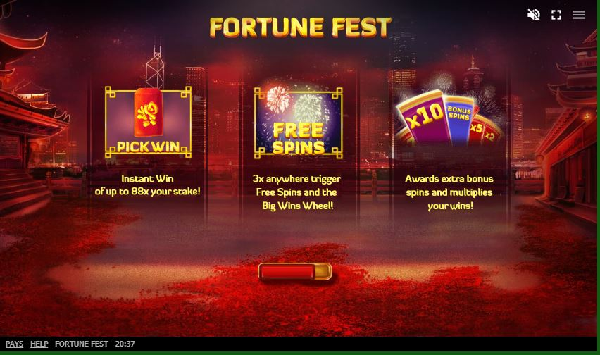 สล็อตออนไลน์ Fortune Fest