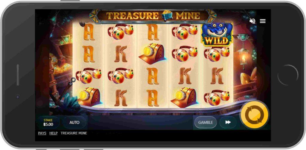 ธีมสำหรับเกมสล็อต Treasure Mine