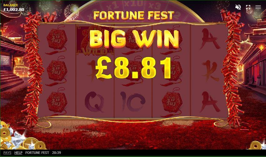 Fortune Fest สล็อตค่าย RT