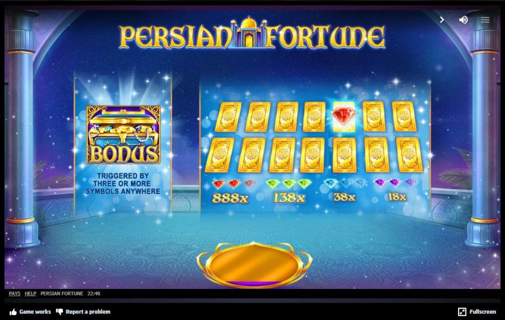 Persian Fortune สล็อตเปอร์เซีย